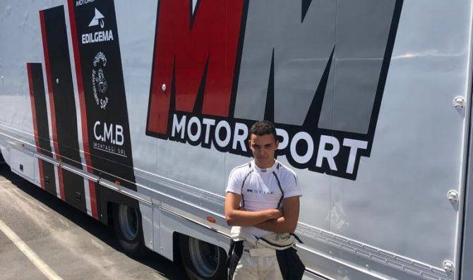 Alessandro Giardelli sale sulla Honda MM Motorsport nel TCR Italy