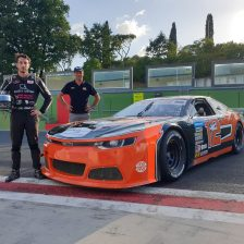 Risitano and Solaris Motorsport togheter in the EuroNASCAR 2