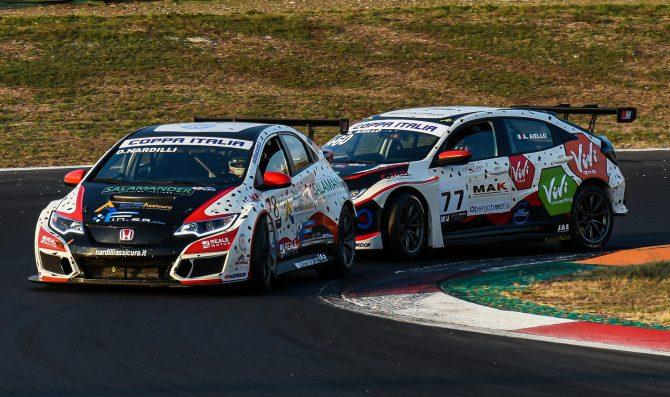 Dominio delle Honda TCR della MM Motorsport