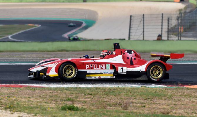 Seconda vittoria di Giacomo Pollini