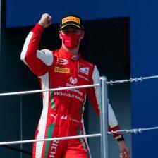 Seconda vittoria di Schumacher