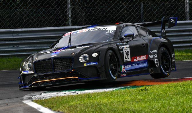 Team Lazarus Bentley claims maiden win