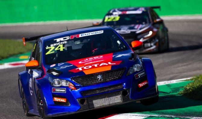 Julien Briche' firma gara 1 a Monza