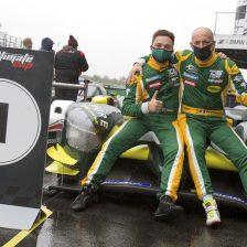 Peccenini, primo trionfo in sportscar