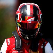 Leclerc nei test F3 con Prema