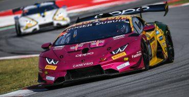 Barcellona: uno-due Lamborghini