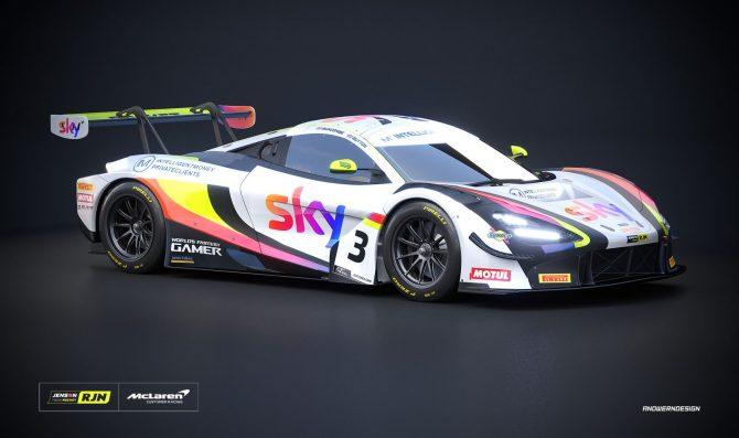 Button debutta nel British GT