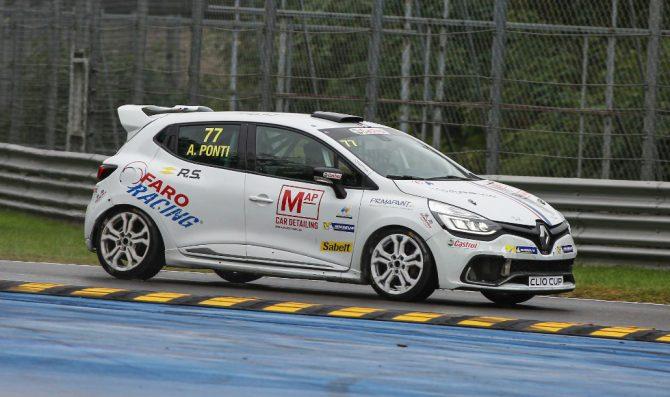 Clio: a Monza super Ponti, Ricciarini OK