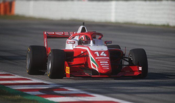 Leclerc guida le libere in Spagna