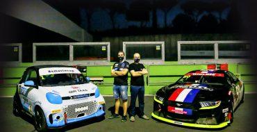 Krohn a Monza sulla BMW