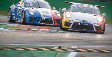 Giacon firma la prima manche di Monza