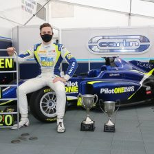Frederick is the 2020 British F3 Champion