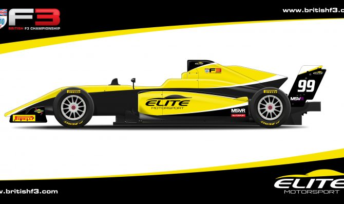 Elite Motorsport joins British F3