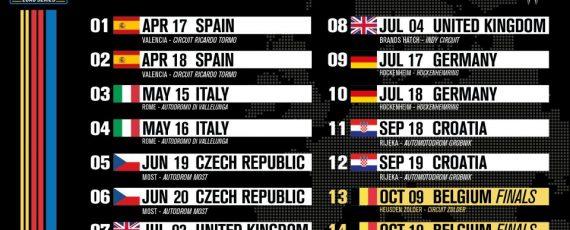 EuroNASCAR, il calendario 2021
