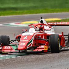 Rasmussen e Leclerc in pole a Imola