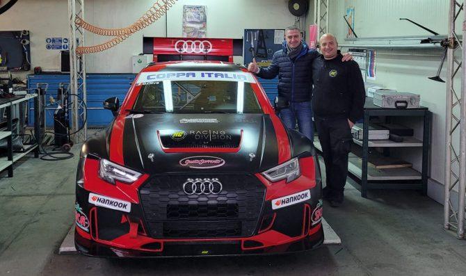 Bruccoleri torna e debutta sulla Audi