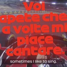 Vettel canta, ma non è il primo
