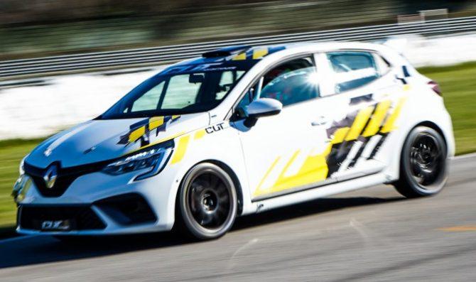 La nuova Clio in pista a Magione