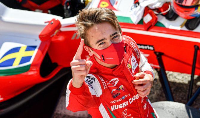Beganovic moves up to Formula Regional