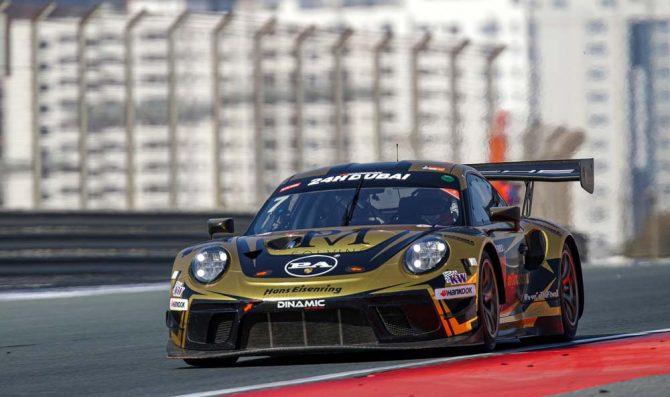 24H Dubai, qualifiche: Porsche davanti