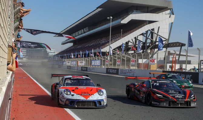 GPX Racing dominates 24H Dubai