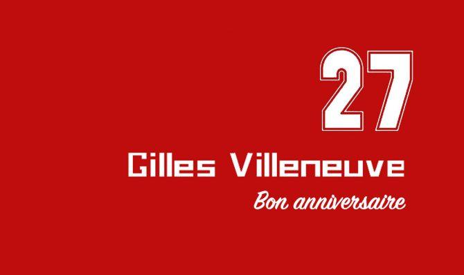 Bon anniversaire Gilles!