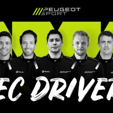 Peugeot announces driver line-up