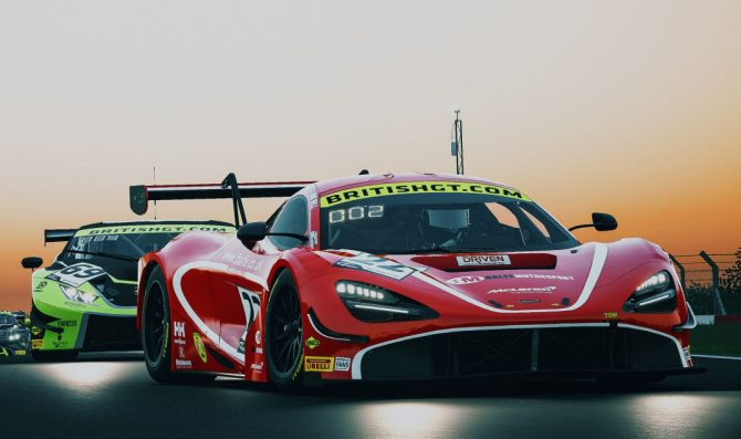 British GT joins Assetto Corsa