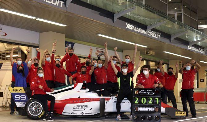 Guanyu Zhou takes F3 Asia title