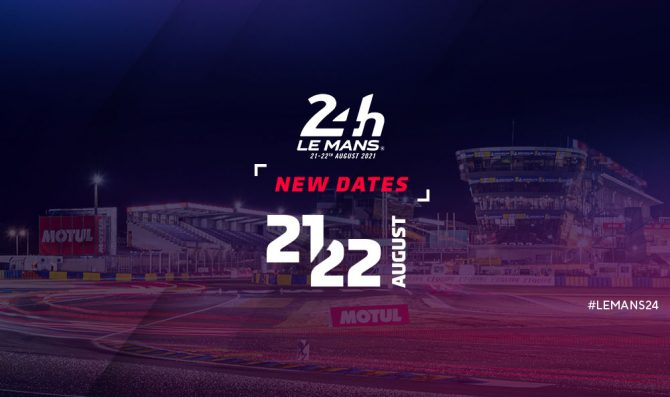 24H Le Mans postponed to August