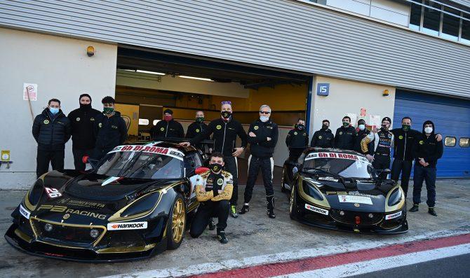 12H Mugello, PB Racing con due Lotus