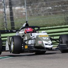 Imola, day 1. David dominates