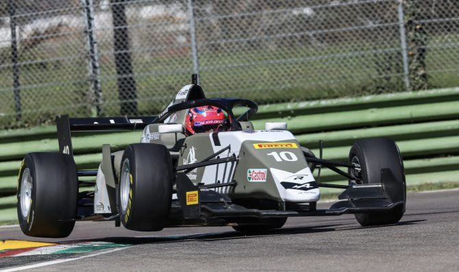 Test a Imola, day 1. David domina