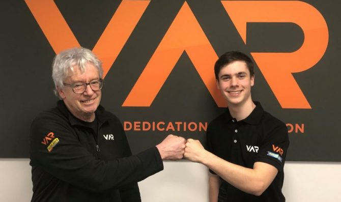 Stevenson joins VAR for Euroformula debut