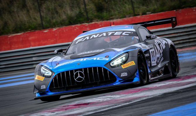 Test al Ricard, ancora Mercedes
