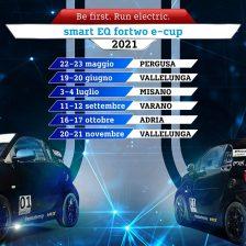 Svelato il calendario smart e-cup 2021