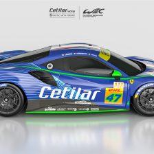 Ecco la Ferrari GTE Cetilar Racing