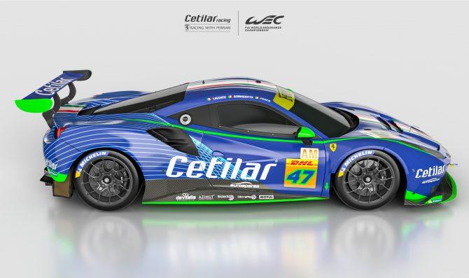 Cetilar Racing unveils FIA WEC campaign