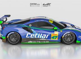 Ferrari 488 GTE Cetilar Racing
