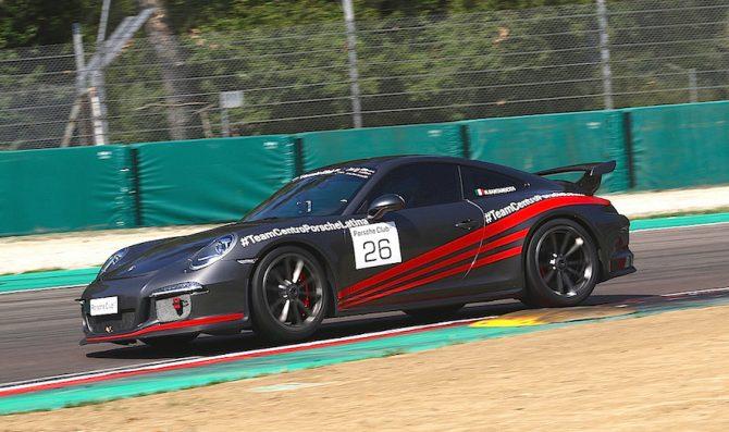 Porsche Club GT a quota 50