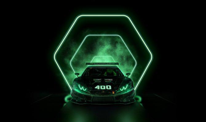 400 Huracan racing cars for Lamborghini