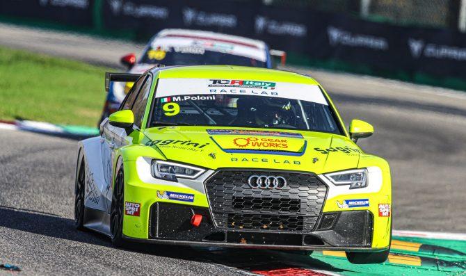 Poloni al via con la Audi sequenziale