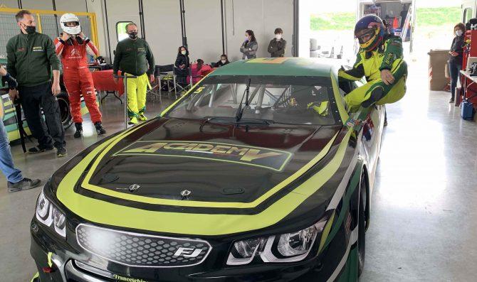 Villeneuve in pista con Alex Caffi Motorsport