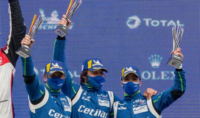 Cetilar Racing: podio all'esordio