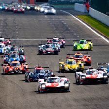 Toyota makes history at Spa