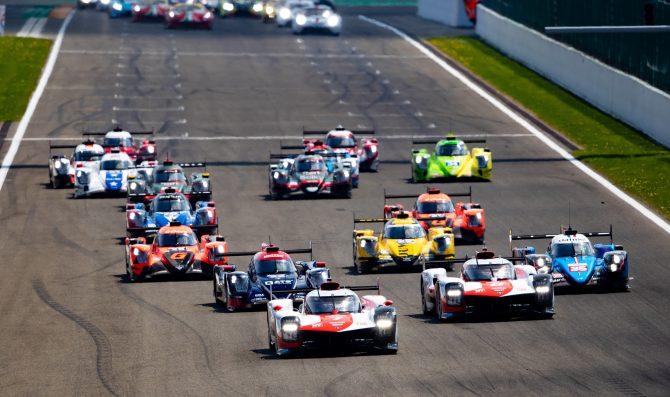 Toyota makes history at Spa