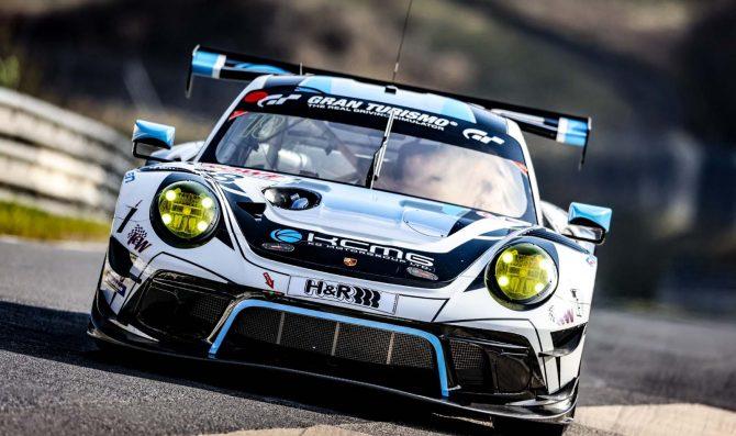 Liberati con la Porsche KCMG alla Qualification Race