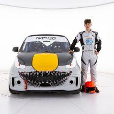 Mattia Carlotto con Trivellato Racing