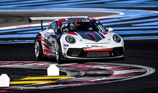 Zamparelli secures first pole position