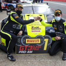 Aston claims pole at Brands Hatch